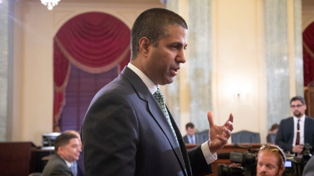 Ajit Pai and Republicans in Congress Helped Enable  Bounty Hunters  to Track Your Phone