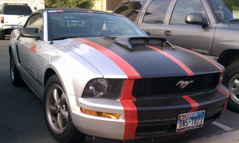 Those Racing Stripes Aren T Paint