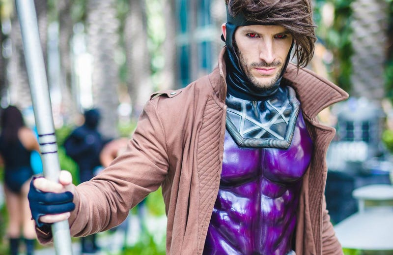 Illustration for article titled Mon Ami, This Gambit Cosplay Is Fantastic