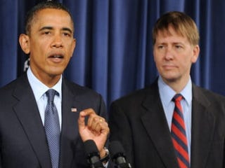 President Obama and Richard Cordray (Getty Images)