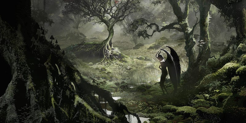 Illustration for article titled Maleficent Can't Possibly Be As Moody And Gorgeous As This Concept Art