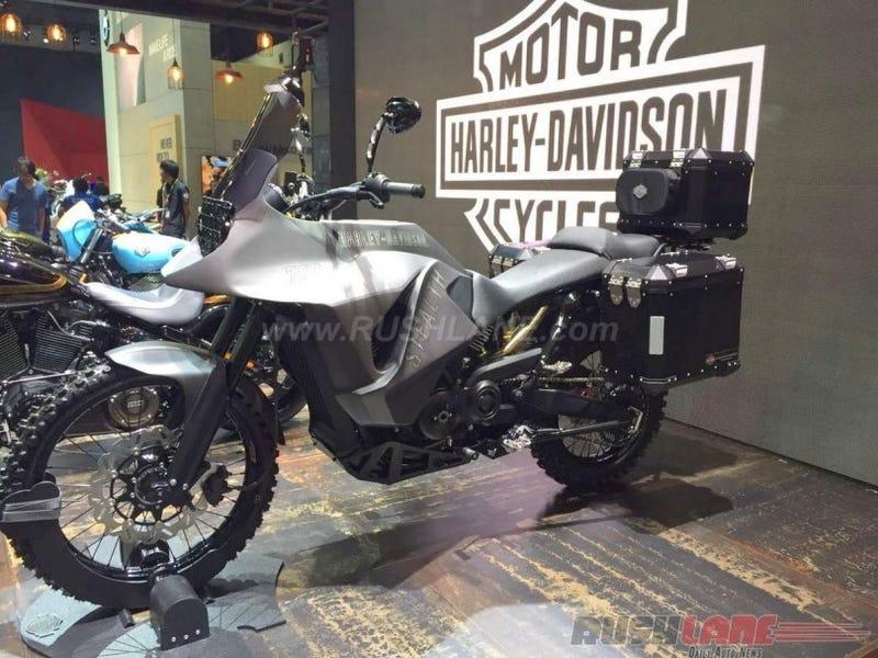 The Harley-Davidson 750 Stealth Concept Is An Honest-To-God Harley Adventure Bike
