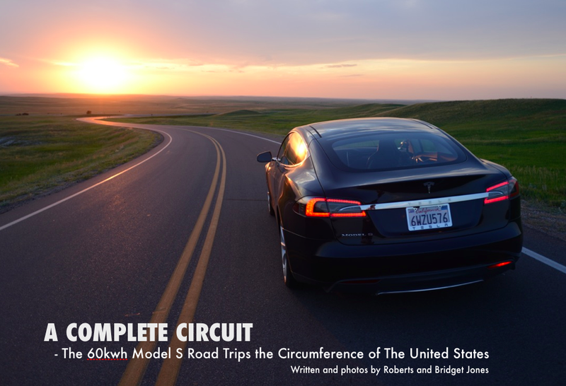 Illustration for article titled A Complete Circuit - A Tesla Road Trips the United States