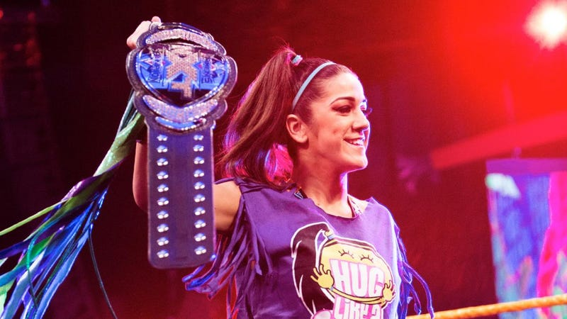 Illustration for article titled The Future of WWE Is A Women's Wrestler Named Bayley