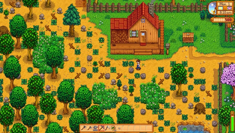 Illustration for article titled New Stardew Valley Expansion Allows Player To Shoot Self In Barn After Family Farm Bankrupted By Corporate Agribusiness