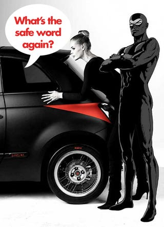 Illustration for article titled Studiotorino Fiat 500 Diabolik Limited To Just 50 Italian Dragons