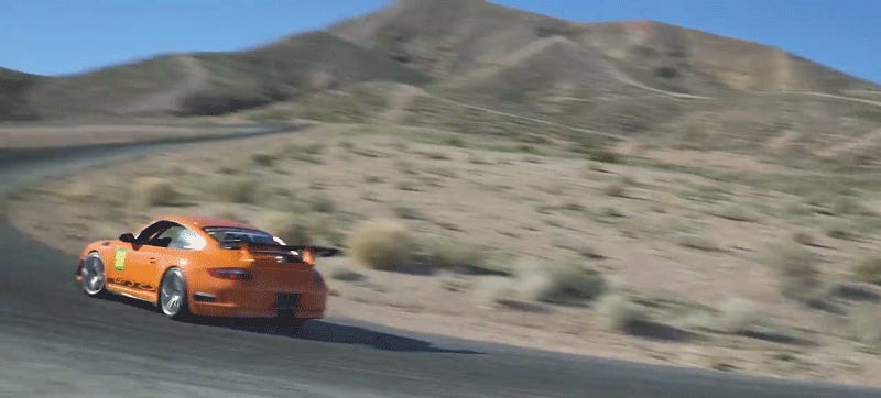 Of Course You Can Do Shenanigans In The Porsche 911 GT3 RS, Duh