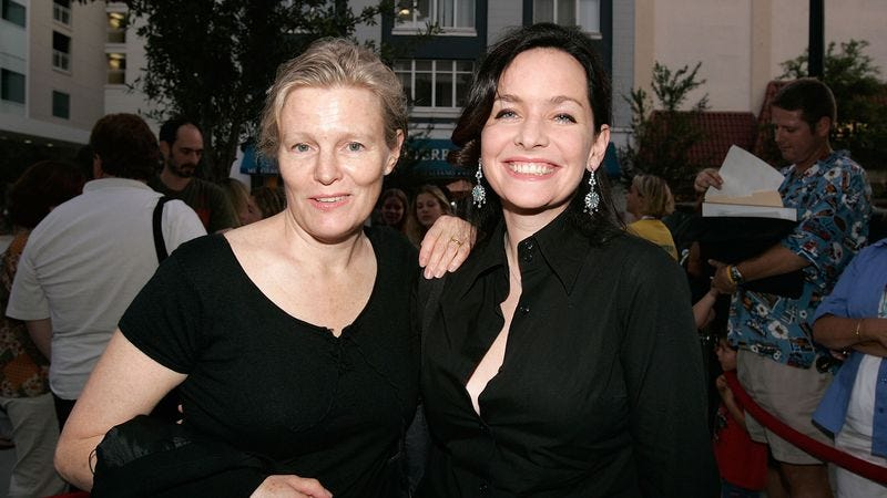 Harron and Turner in 2006. (Photo: Getty Images)