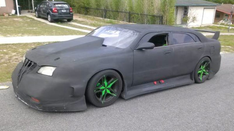 This Custom Mazda 626 Is Proof That Energy Drinks Are
