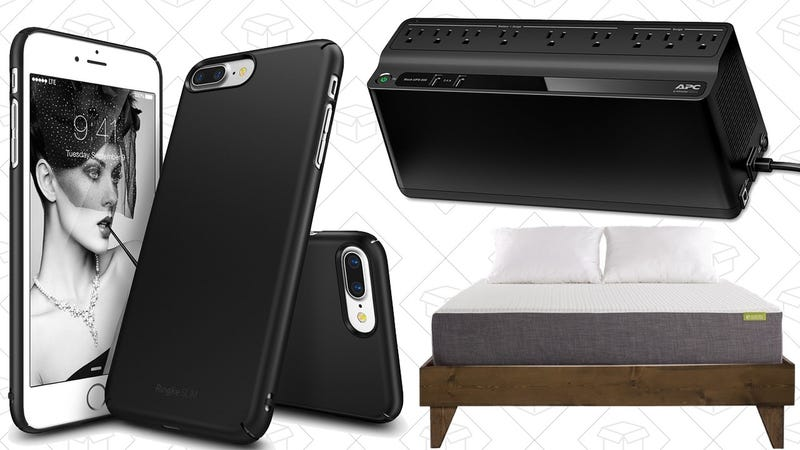 Illustration for article titled Today's Best Deals: $4 Phone Cases, Bed Frames, Battery Backups, and More