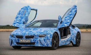 Illustration for article titled BMW Is Going to Use Gorilla Glass in the BMW i8
