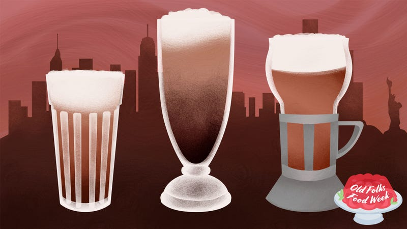 Illustration for article titled What's a chocolate egg cream? (And why does it contain neither egg nor cream?)