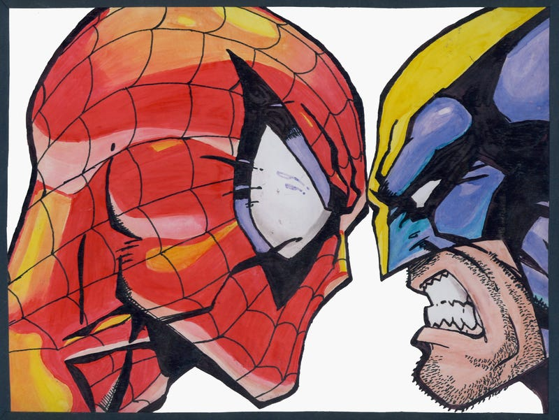 Illustration for article titled Hugh Jackman's Wolverine almost showed up in Raimi's first Spider-Man