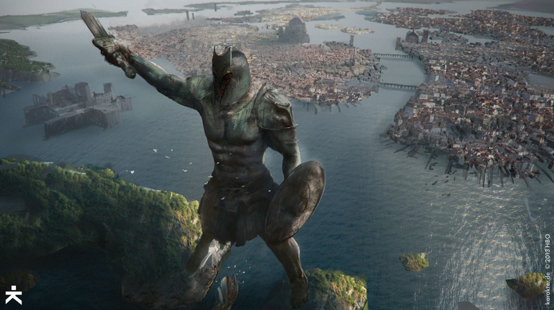 Karakter Design Studio Game Of Thrones VFX Concept Art Team Has Just Released A Treasure Trove From Season 4 While Locations Like Braavos Above