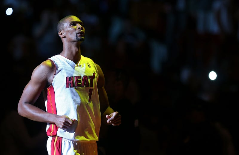 Illustration for article titled Reports: Chris Bosh In Hospital Undergoing Lung Tests