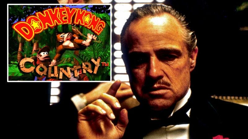 Illustration for article titled Someone Overdubbed 'The Godfather' With The 'Donkey Kong' Soundtrack And Francis Ford Coppola Has Vowed Revenge