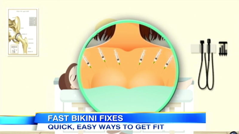 Illustration for article titled Get a Slammin' Summer Bikini Bod With These 5 Easy Steps