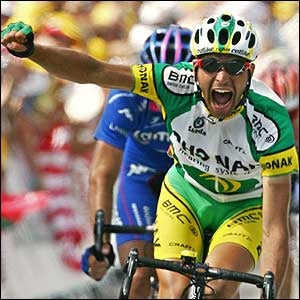 Illustration for article titled Your New 2006 Tour de France champion? Not Quite Yet, Oscar