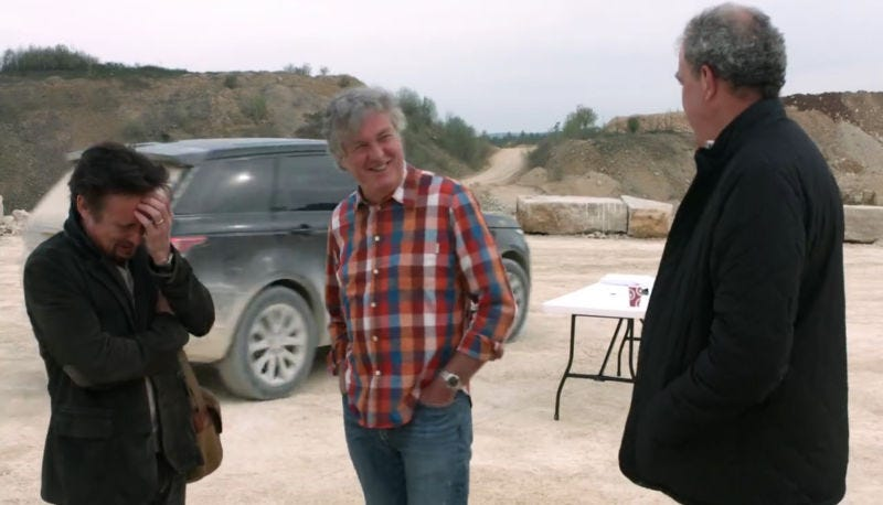 Illustration for article titled The Grand Tour Will Actually Debut A Day Early In The United States