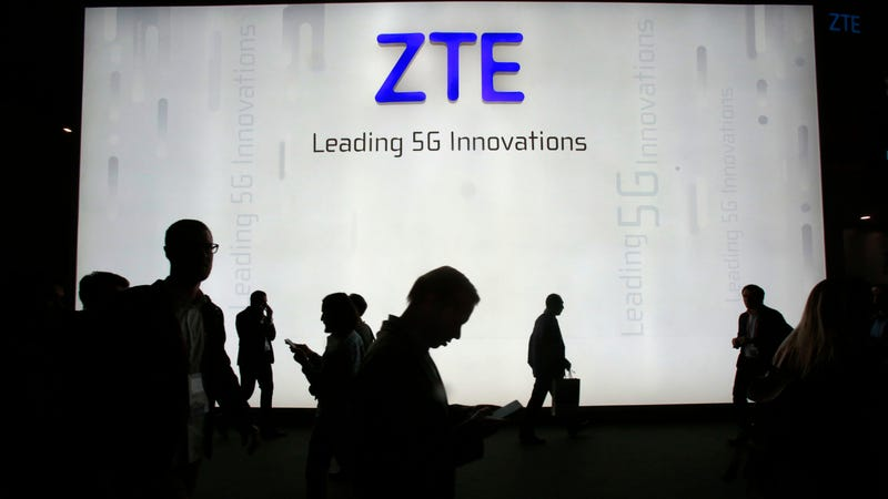 Illustration for article titled Trump Saved China's ZTE, But Senators Are Still Trying to Kill It
