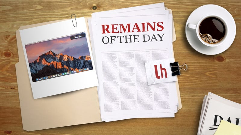 Illustration for article titled Remains of the Day: MacOS Sierra Will Arrive on September 20th