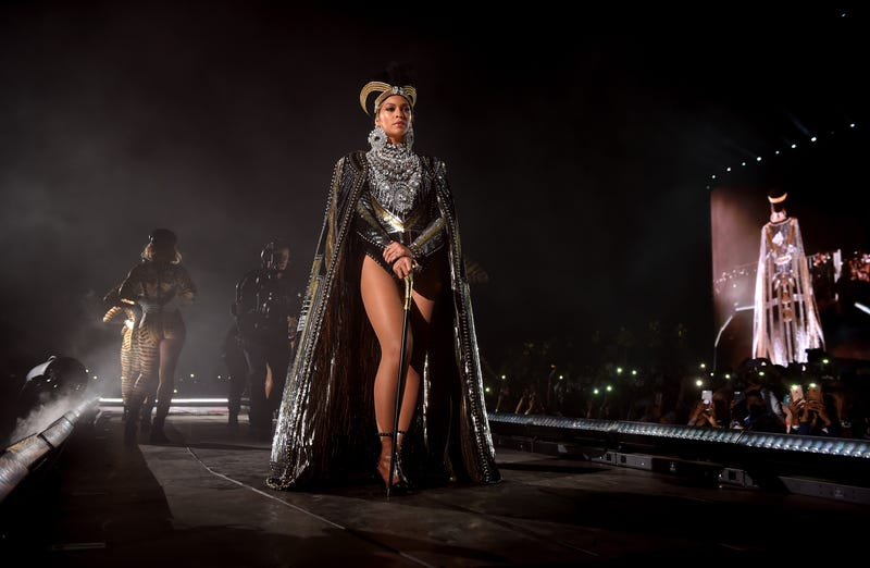 Beyoncé Knowles performs onstage during the 2018 Coachella Valley Music and Arts Festival at the Empire Polo Field on April 14, 2018, in Indio, Calif.