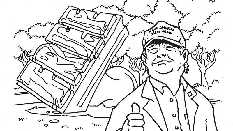 Make the grueling election cycle fun with this RNC coloring book
