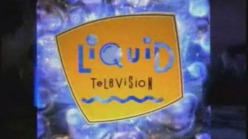 Illustration for article titled MTV made its Liquid Television archive available online