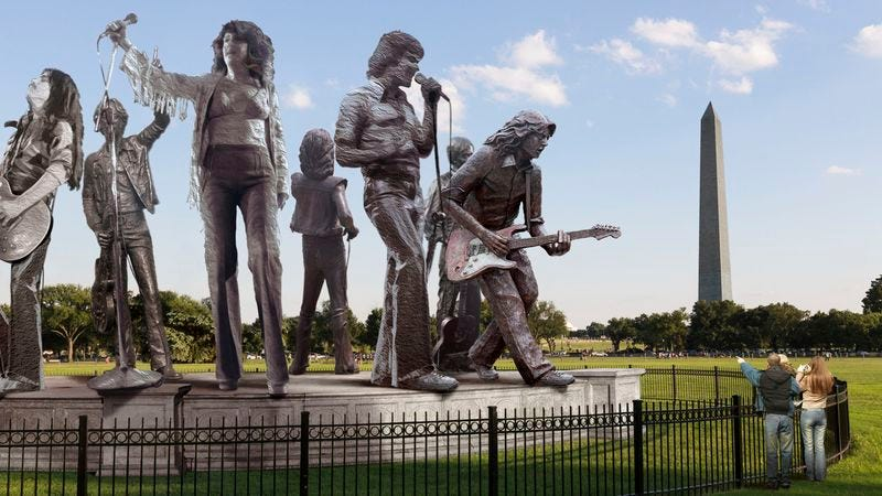 Illustration for article titled Jefferson Starship Memorial Reopens On National Mall
