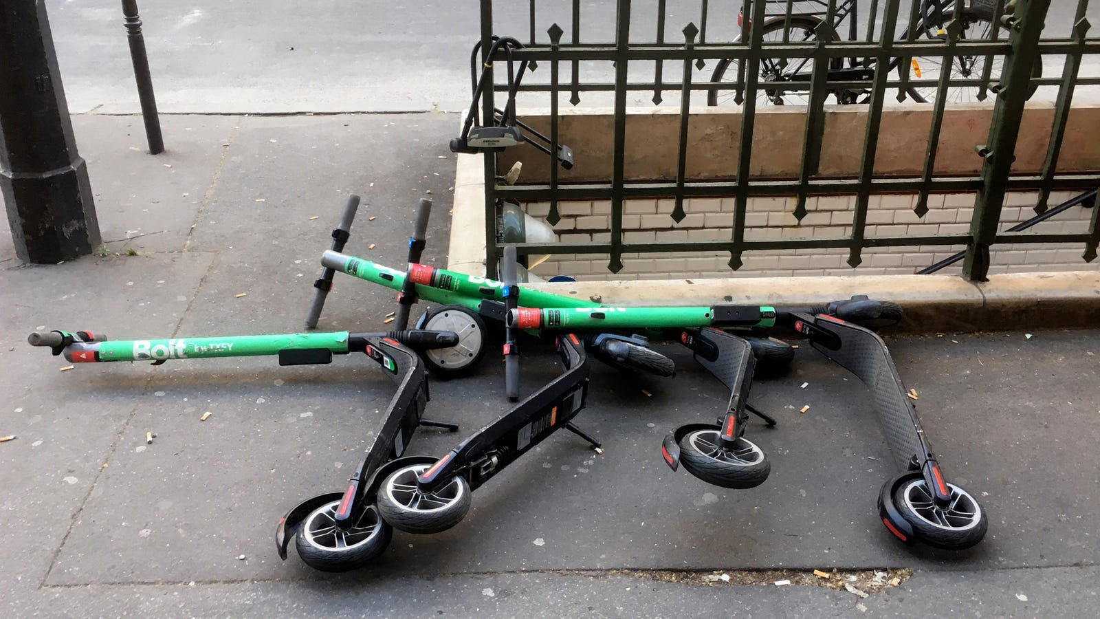 There Is Nothing Funny About The Very Real Threat Of Scooters Causing Mayhem During Hurricane Dorian
