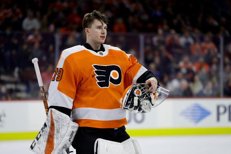 Illustration for article titled Carter Hart Could Be The Start Of Something Big In Philadelphia