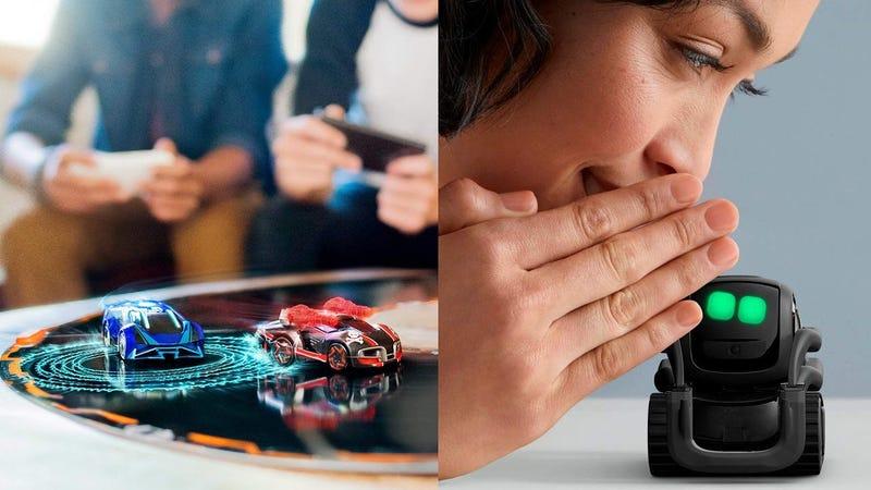 Anki Overdrive   $98   AmazonAnki Overdrive: Fast & Furious Edition   $98   AmazonAnki Cozmo Coding Robot   $126   AmazonAnki Vector Coding Robot   $175   Amazon