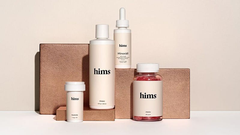 Illustration for article titled Get Everything You Need To Battle Hair Loss With Hims' Complete Hair Kit For Just $5