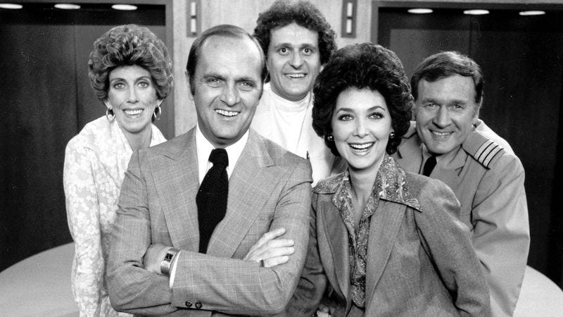 Illustration for article titled The Bob Newhart Show turned its star's signature style into an ensemble classic