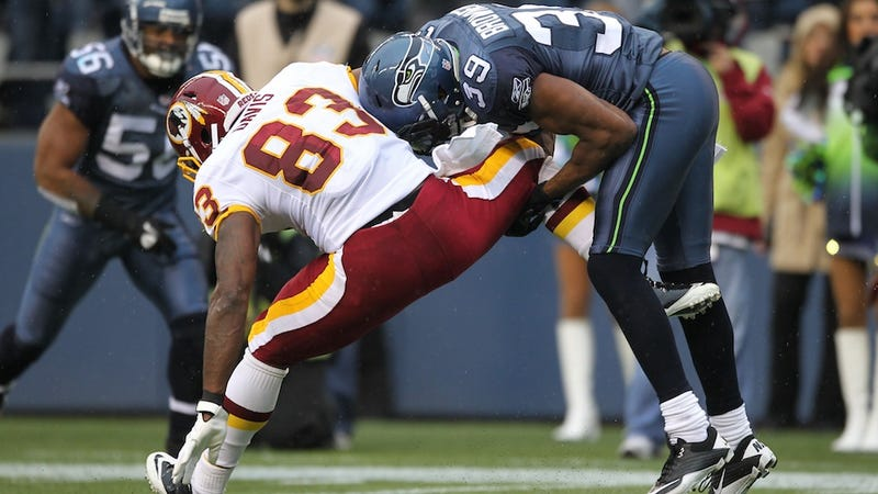 """Illustration for article titled DeAngelo Hall On The Seahawks: """"They Don't Like Us And We Don't Like Them."""""""