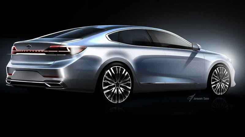 Illustration for article titled Hopefully You'll Remember the Kia Cadenza This Time