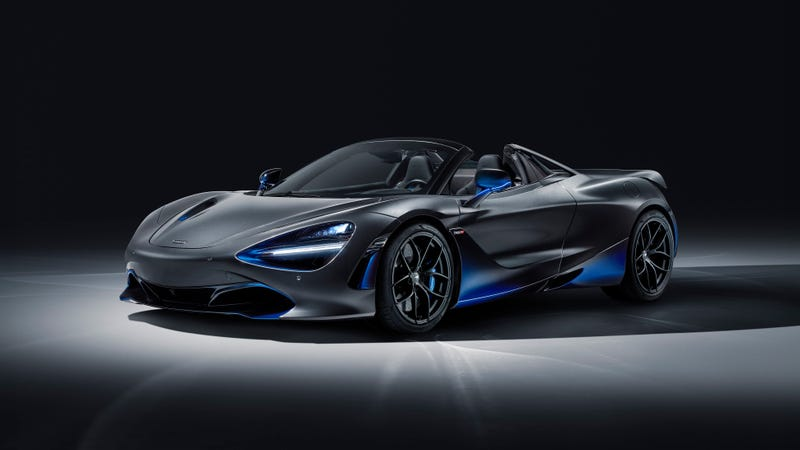 Illustration for article titled This McLaren 720S Spider Is Here to Remind You How Rad Gradient Paint Is