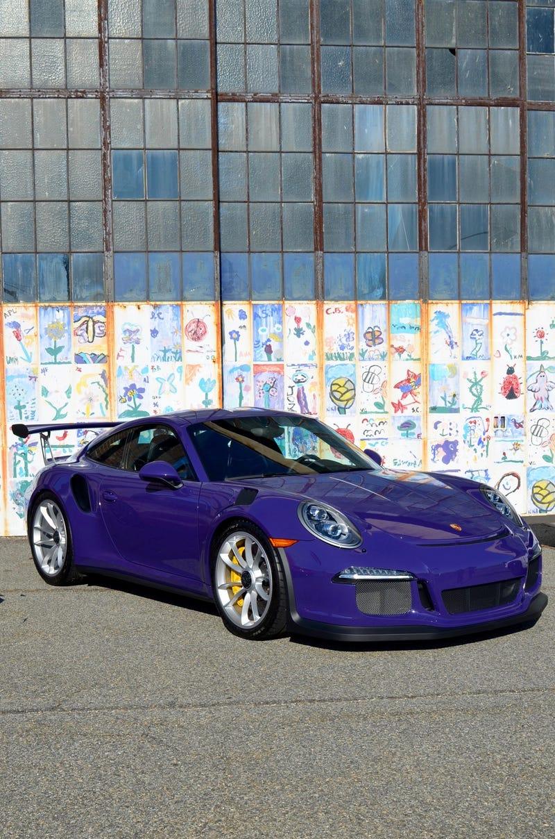 Illustration for article titled Ultraviolet GT3 RS