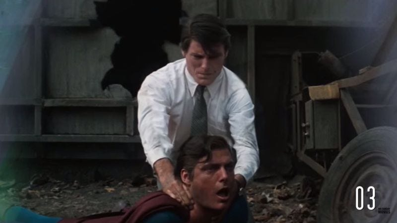 Illustration for article titled Someone has compiled all of Superman's live-action movie kills