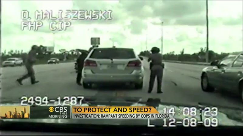 Illustration for article titled Florida Police Officers Are Some Of State's Worst Speeders