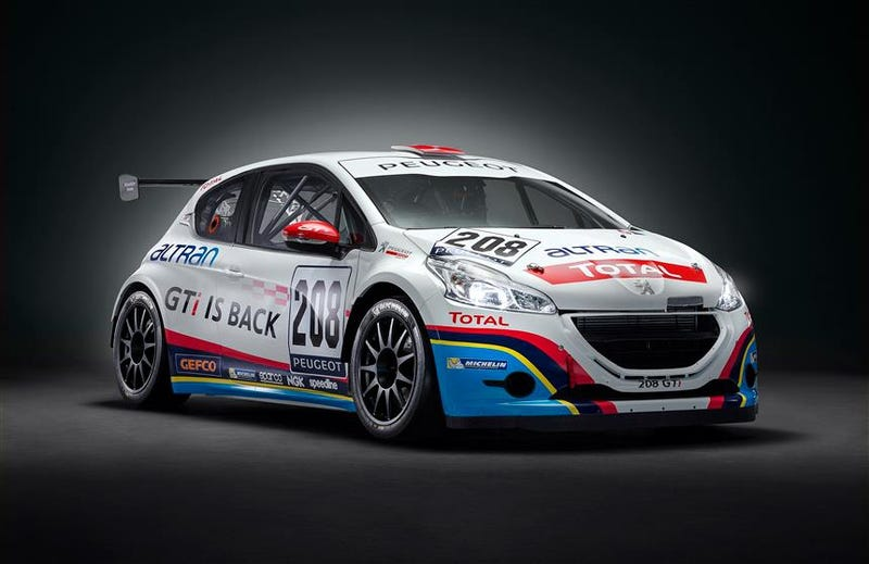 Illustration for article titled Peugeot new race car