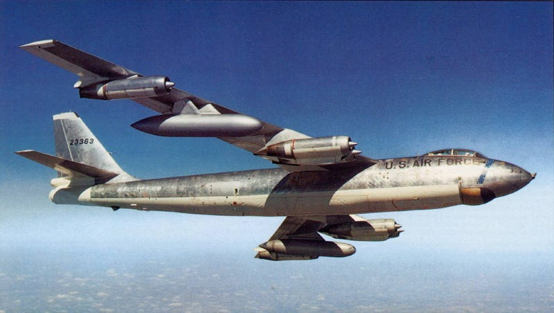 Bombers Used To Drop Nuclear Bombs Upside Down