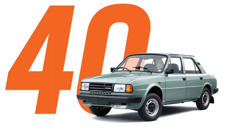 Illustration for article titled Happy Anniversary To One Of The Last Rear-Engine Sedans Ever Developed