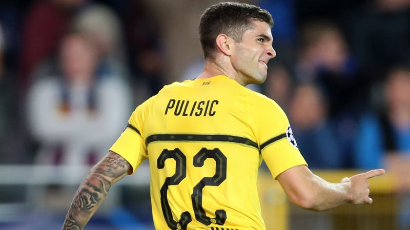 Illustration for article titled Wonderteen Christian Pulisic, Who Is Now A Wonderman, Scores Winner On 20th Birthday