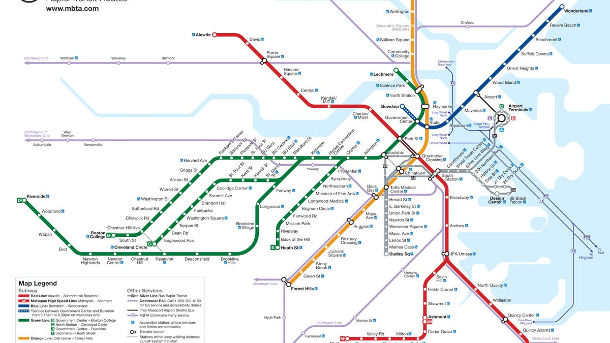 Map Of Boston Subway Artist Says The Last of Us Ripped Off His Boston Subway Map