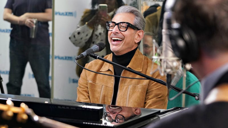 """Illustration for article titled Ariana Grande's """"Thank U, Next"""" is now about Jeff Goldblum, as was always intended"""
