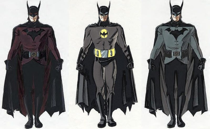 Illustration for article titled Concept Art shows off Darren Aronofsky's Batman movie that never was