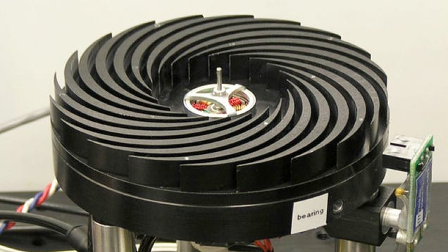 Brilliant Spinning Heatsink Cools Cpus 30 Times More