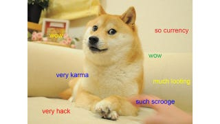 Illustration for article titled Millions of Meme-Based Dogecoins Stolen on Christmas Day