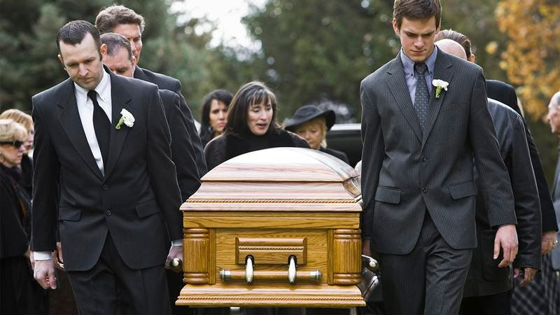Illustration for article titled How Many Of These Ways Have You Padded Out The Running Time Of Your Brother's Funeral?